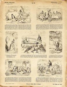 Deutsche Bilderbogen für Jung und Alt Nr. 43