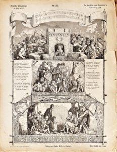 Deutsche Bilderbogen für Jung und Alt Nr. 218