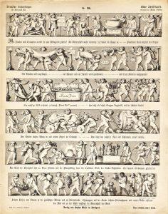 Deutsche Bilderbogen für Jung und Alt Nr. 186