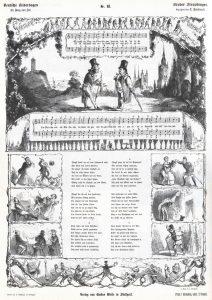 Deutsche Bilderbogen für Jung und Alt Nr. 61