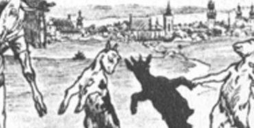 Der Wolf und die sieben jungen Geißlein.