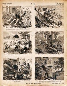 Deutsche Bilderbogen für Jung und Alt Nr. 222: Don Quixote II.