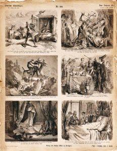Deutsche Bilderbogen für Jung und Alt Nr. 223: Don Quixote II.