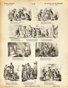 Deutsche Bilderbogen für Jung und Alt