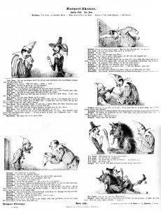 Münchener Bilderbogen Nr. 102: Kasperltheater. Zweiter Bogen Don Juan.